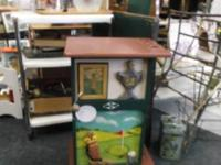 "This golf cabinet is a best ""guy cavern"" item! Priced"