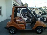 Recently updated and customized Yamaha 2 passenger golf
