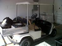 I have an electric golf cart for sale for $1500.00/OBO.
