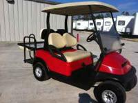 This is a Club Car Precedent High speed 48volt golf