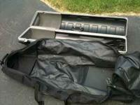 Have two golf club carry and travel case for flying and