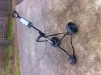 Like new, Pilot, pull cart, used once, 20.00 want it