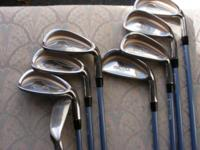 Offering golf club repair services including