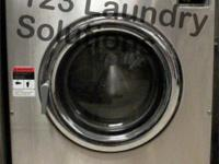 Dexter T600 Front Load Washer 220-240v Stainless Steel