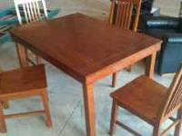 Good condition kitchen table Call Josh  Location: