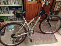 Comfort hybrid bike. Shimano Alivio F3xR8=24speed