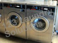 Speed Queen Front Load Washer 208-240v Stainless Steel