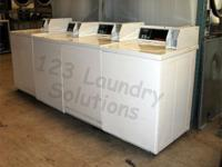 Speed Queen Top Load Washer Almond SWTT21QN Stainless