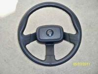 Very nice Black GM Steering Wheel that will fit early