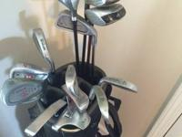 I have a good set of golf clubs for sale. I have