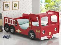 Your little fire chief will love bedtime with this