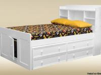 Are you looking for a twin-size captains bed? The
