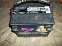 we bought this battery new in 2001 we used this for