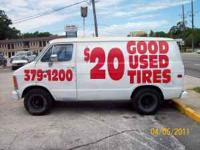 call  good used tires installed for as low as $20