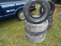 truck tires 235-70-15 all four $90.00 / 205-50-16
