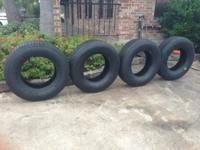 I have for sale a set or four Good Year like new tires