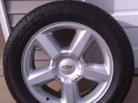 GM 20inch wheels and brand new Goodyear