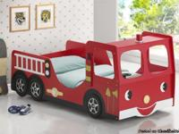 The Fire Truck Twin Bed will be a delightful addition