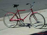 I HAVE A NICE BIKE FOR A PERSON 5 FOOT 8 INCHES AND UP,