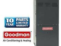 A Goodman 95% Two-Stage Gas Furnace Mfg#GMH950703BX