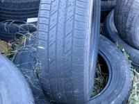 2 Goodyear Assurance tires 225/65/17  asking 80 for