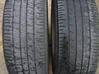 I have two Goodyear Eagle RS-A 205 55 R16 Tires for