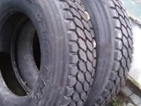 A pair of new Recapped GoodYear Tires. Model G316 LHT.