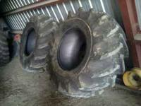 2 like new rice tires, only 1yr old Goodyear rice