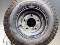 Goodyear Trailer Tire Plus Rim. 480/400-- 8. 4 ply.