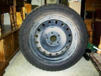 We have a Goodyear truck tire, it's on a 4 lugnut rim,