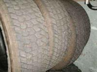 nice goodyear wrangler AT/L tires LT 275/65R18 95%