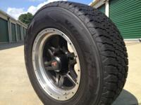 Set of four like new Goodyear Silent Armor kevlar tires