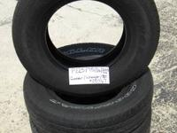 SET OF 4 USED TIRE Goodyear Wrangler st 2257516  	FOR
