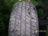 Here is a nice set of 4 275/60 r20, 1 of them has an