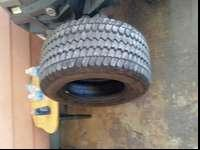 Nice tires never been flat....I will delivery to provo