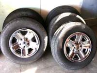 200$ for 5 - 225/75/16 Goodyear Wranglers Tires and