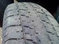 Offering a Goodyear Conquest 225/75/R15 Tire as