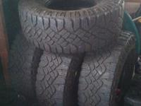 Goodyear Wrangler DuraTrac Tires Set of 4. $800 obo
