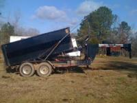Goose Neck Dump Trailer for Sale. U Dump Brand. 2006