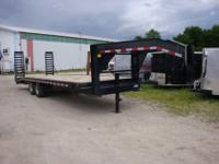 24' Gooseneck Equipment Trailer2013 Quality Used 24'