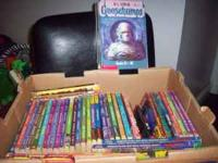 This is the whole R.L Stine Goosebumps series, plus