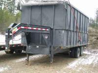 P&J 26,000 GVW Gooseneck Dump Trailer. All Steel with