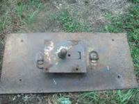 Gooseneck hitch $100 call Chris at  Location: Charles