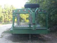 I have a 2006 model R&D lowboy trailer that I don't use