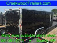 CREEKWOOD TRAILERS IN SEARCY, ARKANSAS (CENTRAL