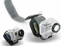GoPro camera not included. These mounts can be used the