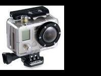 Gently made use of GoPro Hero $125.00 with Attachments