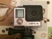 I have a brand new GoPro Hero 4 black edition. There is