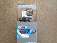GoPRO HERO4 Silver Original packed. Nerver used.