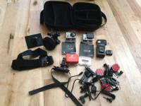 Nice collection of GoPro camera gear that I have been